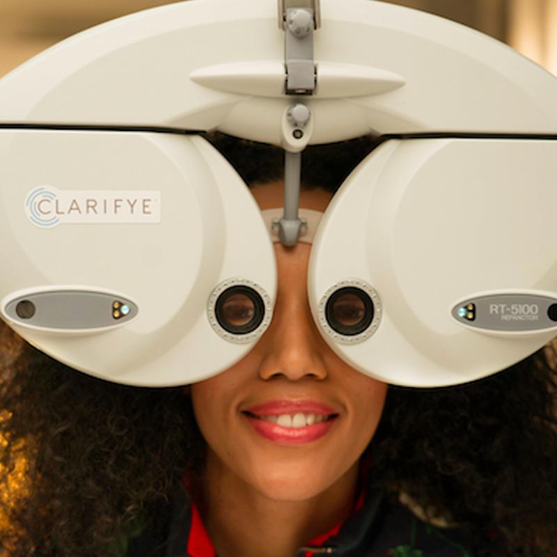 Clarifye, the latest in digital eye exam technology